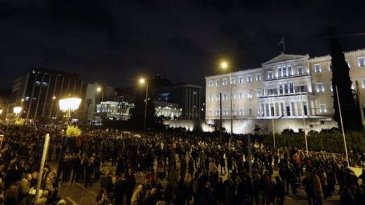 Rally in Athens