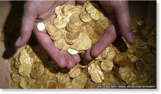 Gold Coins found in Israel