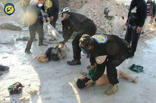 Chemical attack idlib