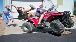 Cool fourwheeler
