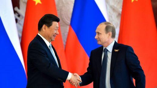 Bilateralni sastanak predsednika Ruske Federacije Vladimira Putina i predsednika Narodne Republike Kine Sija Đinpinga, 8. maja 2015.