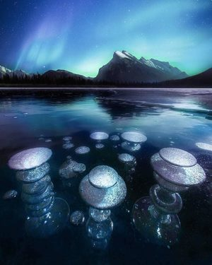Vermillion Lakes in Banff, Alberta Canada