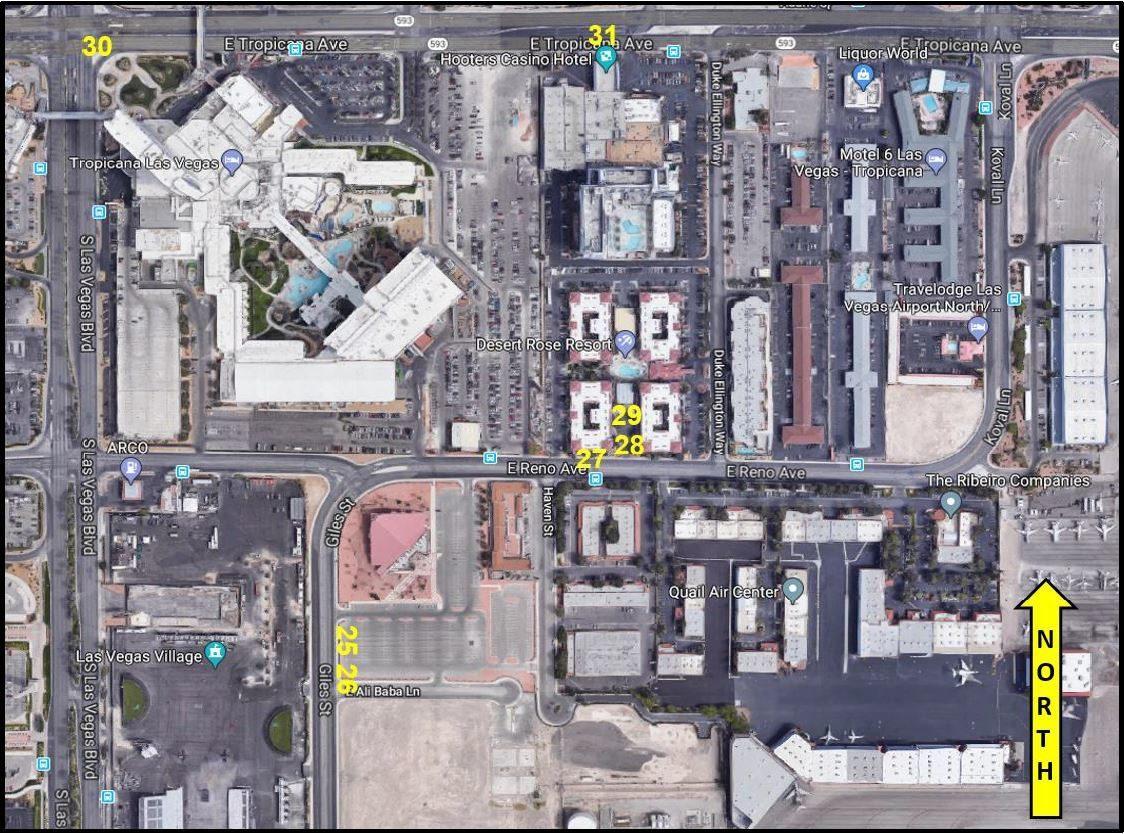 brzina upoznavanje događaja u Las Vegasu