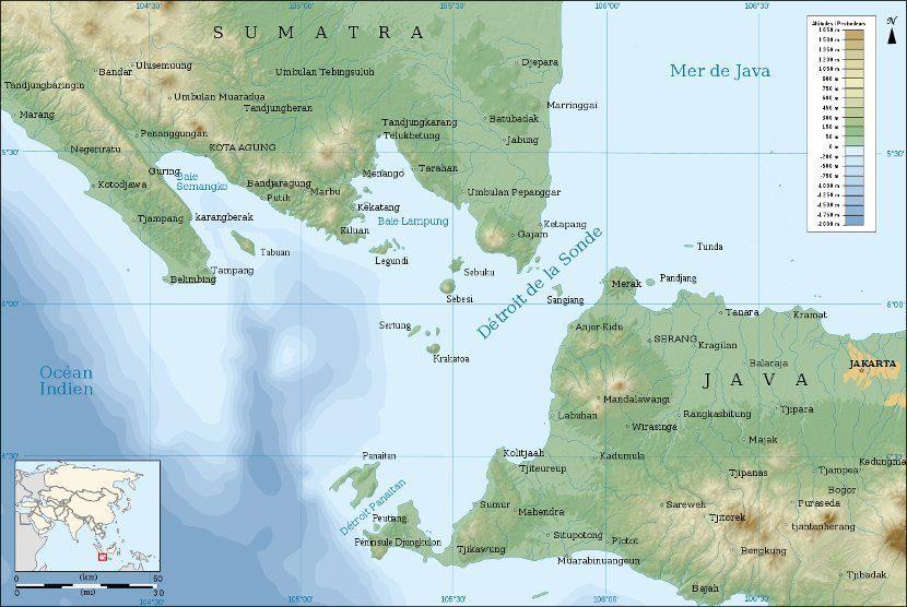 Datiranje na Zemlji sub Indonezija