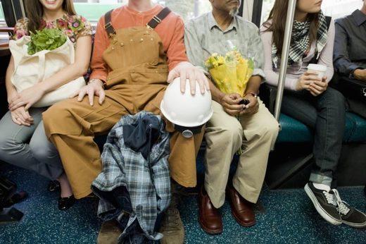 nepristojno sjedenje