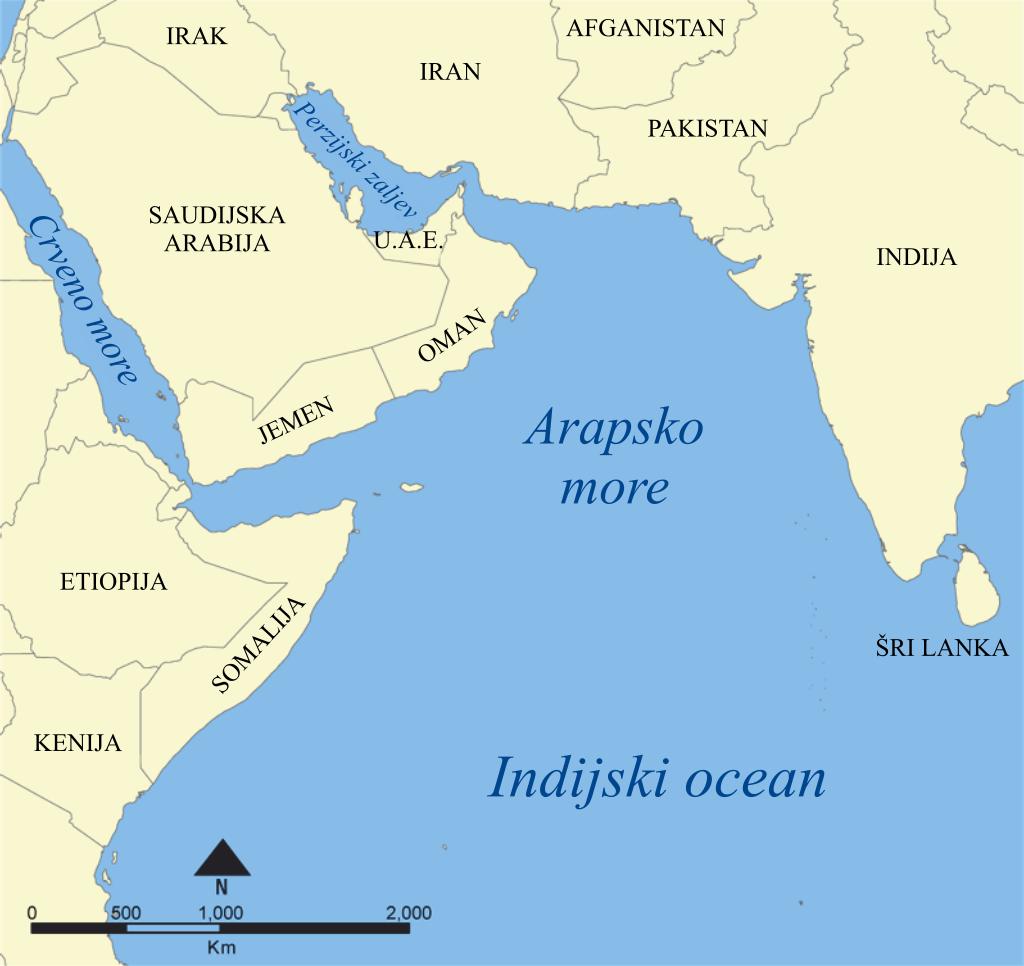 Crna brzina za zaljevsko područje